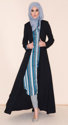 Aab: Contemporary Modest Wear, Abayas, Jilbabs and Hijabs View All. Modest Wear, Modest Dresses, Modest Outfits, Modest Fashion, Unique Fashion, Fashion Dresses, Muslim Women Fashion, Arab Fashion, Islamic Fashion