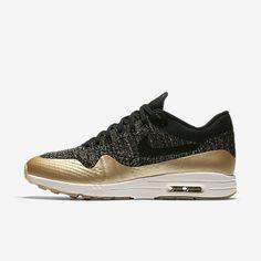 online store 2cbd4 d076e Nike Air Max 1 Ultra 2.0 Flyknit Metallic Women s Shoe Air Max One,  Metallic Sneakers