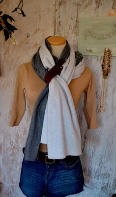 Winter Scarf, cool added flare with the loop