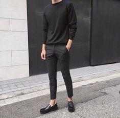 Easy And Cheap Cool Ideas: Urban Fashion Teen Shops urban wear summer shirts.Urban Wear For Men Shoes. Urban Fashion Girls, Korean Fashion Men, Fashion Mode, New Fashion, Trendy Fashion, Fashion Outfits, Fashion Black, Fashion 2016, Fashion Ideas