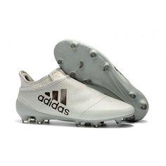 super popular 38821 31012 Adidas Ace 17+ Purecontrol FG Fotbollsskor Vitt guld Cleats, Soccer,  Football Boots,