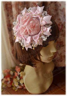 Pink Sweet Flower Lolita Headdress