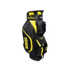 Team Golf Iowa Hawkeyes Clubhouse Golf Cart Bag, Multicolor
