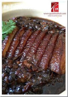 Hakka Mei Cai Stewed Pork Belly (客家梅菜扣肉) #kenneth_goh    #guaishushu #梅菜扣肉