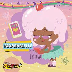"Anittinha – Marshmelle e o celular (De ""Clube da Anittinha"") – Single Princess Peach, Family Guy, Fictional Characters, Printable Planner Stickers, Club, Fantasy Characters, Griffins"