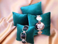 4 Jewelry Display Velvet Pillows Greenfor bracelet by BestFit, $10.00