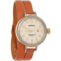 I was recently gifted this Shinola watch. It's beautifully made and so unique. The company is really great - everything is handmade in...
