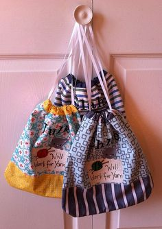 Drawstring bag from Little Things to Sew