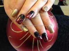 Gorgeous 130+ Beautiful Black Acrylic Nails Design Ideas
