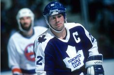 The Leafs first 50 goal scorer Rick Vaive Maurice Richard, Maple Leafs Hockey, Mario, Hockey Rules, Hockey World, Nhl News, Nhl Players, St Louis Blues, Nfl Fans