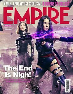 Empire Magazine - Moira McTaggert and Psylocke, May 2016
