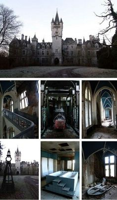 An abandoned castle in Belgium~