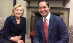 Clinton-Castro 2016: Hillary said to be grooming Julian Castro for VP.  ~  ah, right ... The Socialist Party, just what we need!  Go to Cuba, I'm sure they will be looking for the Castro brothers replacement soon.