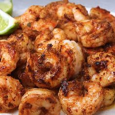 These vividly seasoned shrimp are great on their own, served atop pasta, or as part of a tapas tray.