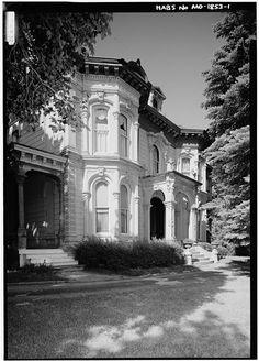 1.  GENERAL VIEW OF SOUTH FRONT - Adam N. Schuster House, 703 Hall Street, Saint Joseph, Buchanan County, MO