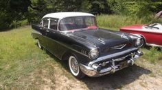 1957 Chevy Bel Air for sale (AL) - $28,000 '57 Bel Air 4 Door Sedan. All Original ; in EXCELLENT condition! 77,000 Miles. Black exterior paint. Black & Red interior. Automatic Transmission Powe