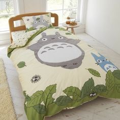 Image via We Heart It #bed #Miyazaki #MyNeighborTotoro #studioghibli