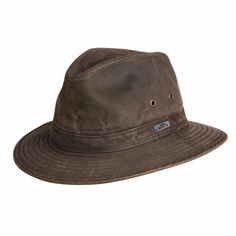 87ac631ac9e Indy Jones Water Resistant Cotton Hat
