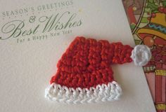 Crochet Santa Clause Hat