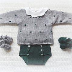 Com Maria Carapim In - Diy Crafts - maallure Baby Knitting Patterns, Knitting For Kids, Baby Patterns, Knitting Wool, Knitting Ideas, Fashion Kids, Layette Pattern, Pull Bebe, Diy Bebe