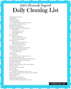 Daily-Cleaning-List.png 769×960 pixels
