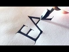 (3) ROMAN CAPITALS CALLIGRAPHY PRACTICE - YouTube Calligraphy Writing Styles, Calligraphy Video, Calligraphy Practice, How To Write Calligraphy, Calligraphy Quotes, Lettering Styles, Caligraphy, Hand Lettering, Roman Letters