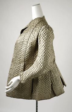 Bed Jacket 1725, British, Made of silk