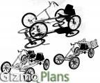 CAR BIKE - 1 seat, 2 seat & truck plans included