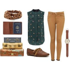 travelling the world by revesenrose on Polyvore featuring Sea, New York, Topshop, Not Rated, J.Crew and TOMS