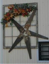Old Hand Saws Made Into A Star!!