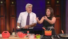 Watch Rachael Ray & Jay Leno Have 'Unprotected Burger'
