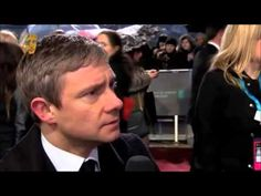 There's quite a bit of swearing involved...but it's Martin Freeman and I love him.