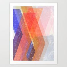 Paths Art Print by Zeke Tucker - $15.60