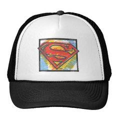 Superman S-Shield | Colored Logo. Producto disponible en tienda Zazzle. Accesorios, moda. Product available in Zazzle store. Fashion Accessories. Regalos, Gifts. #gorra #hat #heroe #hero #american