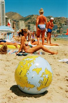 The symmetrical roundness of the inflatable globe is eye-catching amid all the other asymmetry and roundness. I hated Benidorm - there were Spanish! Social Photography, Color Photography, Street Photography, Portrait Photography, Nature Photography, Wedding Photography, Landscape Photography, Fashion Photography, Martin Parr