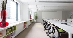 Meeting room into the premises of Merisant in Paris, France