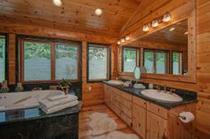 Escape the city with a luxurious cabin in the country.