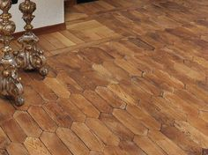 Wooden floor tiles LOSANGA by MP Parquet Company