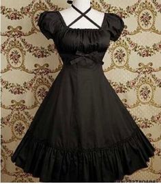 Shopping for Lolita dress on sale. We supply newest designed awesome girls fancy dresses, classic Lolita dresses, sweet Lolita girl dresses with low profit wholesale price. Style Lolita, Gothic Lolita Dress, Gothic Lolita Fashion, Punk Fashion, Pretty Dresses, Beautiful Dresses, Beautiful Clothes, Moda Lolita, Lolita Mode