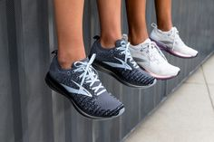 The women's Bedlam 2 road-running shoe features our springiest cushioning ever plus innovative GuideRails® Holistic Support System, and sleek style. Good Running Shoes, Go Your Own Way, Run Happy, Suede Heels, Comfortable Shoes, Chart, Clothes For Women, My Style, Sneakers