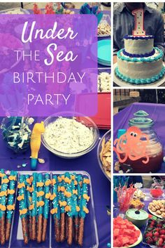Under The Sea Birthd