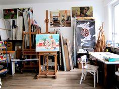 #Atelier in der #Karlstraße 104 in #Darmstadt #Bessungen