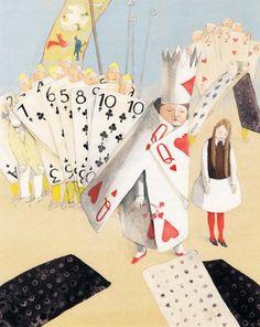 Lisbeth Zwerger's Imaginative Illustrations for Alice in Wonderland   Brain Pickings