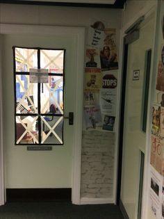 World War Two classroom display door poster sandbags Year 6 Classroom, Classroom Door, Classroom Displays, Classroom Ideas, World War 2 Display, School Projects, Projects To Try, Door Displays, Book Corners