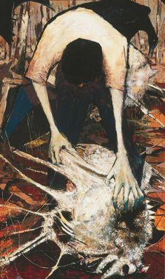 peira:  Clifton Pugh: Collecting Dead Wool (1957)