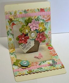 Beth-A-Palooza: My First Pop Up Card
