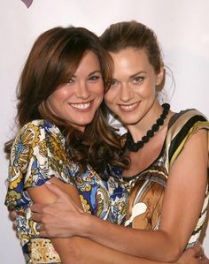 Danneel Harris Ackles and Hilarie Burton!