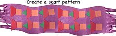 Scarf pattern activity     Cut a 12 x 18 sheet of colored construction paper in half      Each side of the paper makes a scarf      Let the children fringe the edges with scissors      Then glue stickers on the paper scarf to make two rows of pattern. - Pinned by @PediaStaff – Please visit http://ht.ly/63sNt for all (hundreds of) our pediatric therapy pins