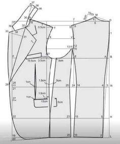 how i can get training to do pattern Blazer Pattern, Suit Pattern, Collar Pattern, Jacket Pattern, Tailoring Techniques, Techniques Couture, Sewing Techniques, Coat Patterns, Dress Sewing Patterns