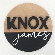 I now offer custom name signs with a dipped (stain/paint) look. I love the neutral colors and the pop of the white against the black! . . . . . #namesign #namesigndecor #personalizednamesign #customnamesign #namesigns #roundnamesign #customsign #customsigns #raisedletters #customroundnamesign #woodroundsign #customsigndecor #woodsigndecor #3Dsigns #scrollsawart #shopboise #shoplocalboise #boiseshopping #boiseartist #woodworking #nurserydecor #nurserynamesign #childnamesign  #customwoodsign… Painted Wooden Signs, Custom Wood Signs, Wooden Diy, Nursery Wood Sign, Nursery Name, Cute Baby Names, Boy Names, Store Image, Baby Name Signs